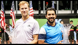 Dominic Inglot and Aisam-Ul-Haq Qureshi are the last team standing at the New York Open.