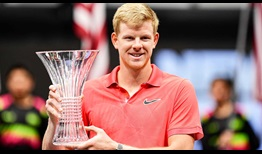 Kyle Edmund clinches his first ATP Tour title in 16 months at the New York Open.