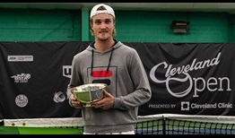 Mikael Torpegaard adds a third ATP Challenger Tour title, prevailing in Cleveland.