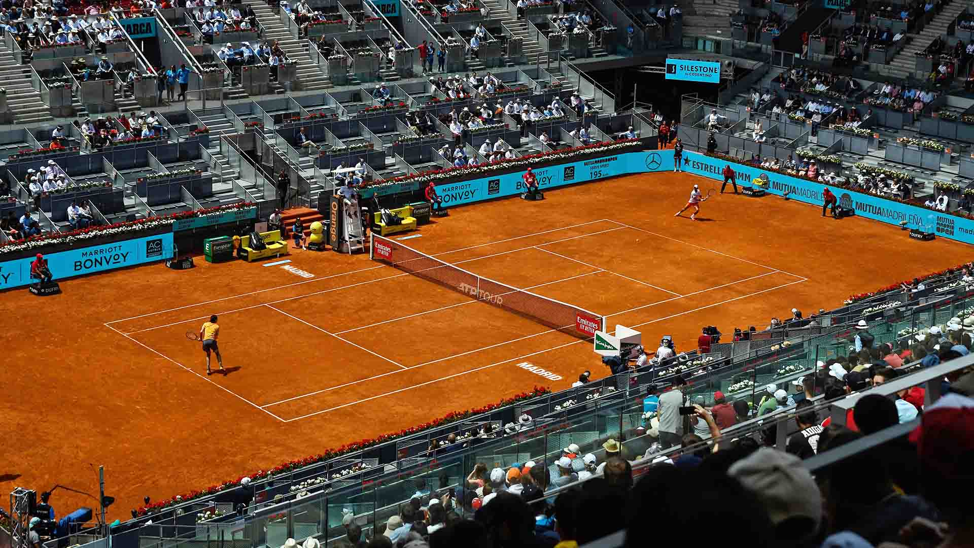 The Mutua Madrid Open will feature Electronic Line Calling for the first time in 2020.