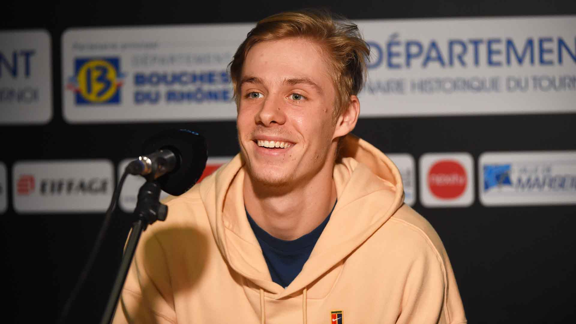 Denis Shapovalov is the fourth seed at the Open 13 Provence.