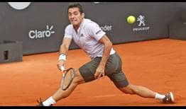 Chilean Cristian Garin wins his seventh match in a row by defeating Argentine Federico Coria.