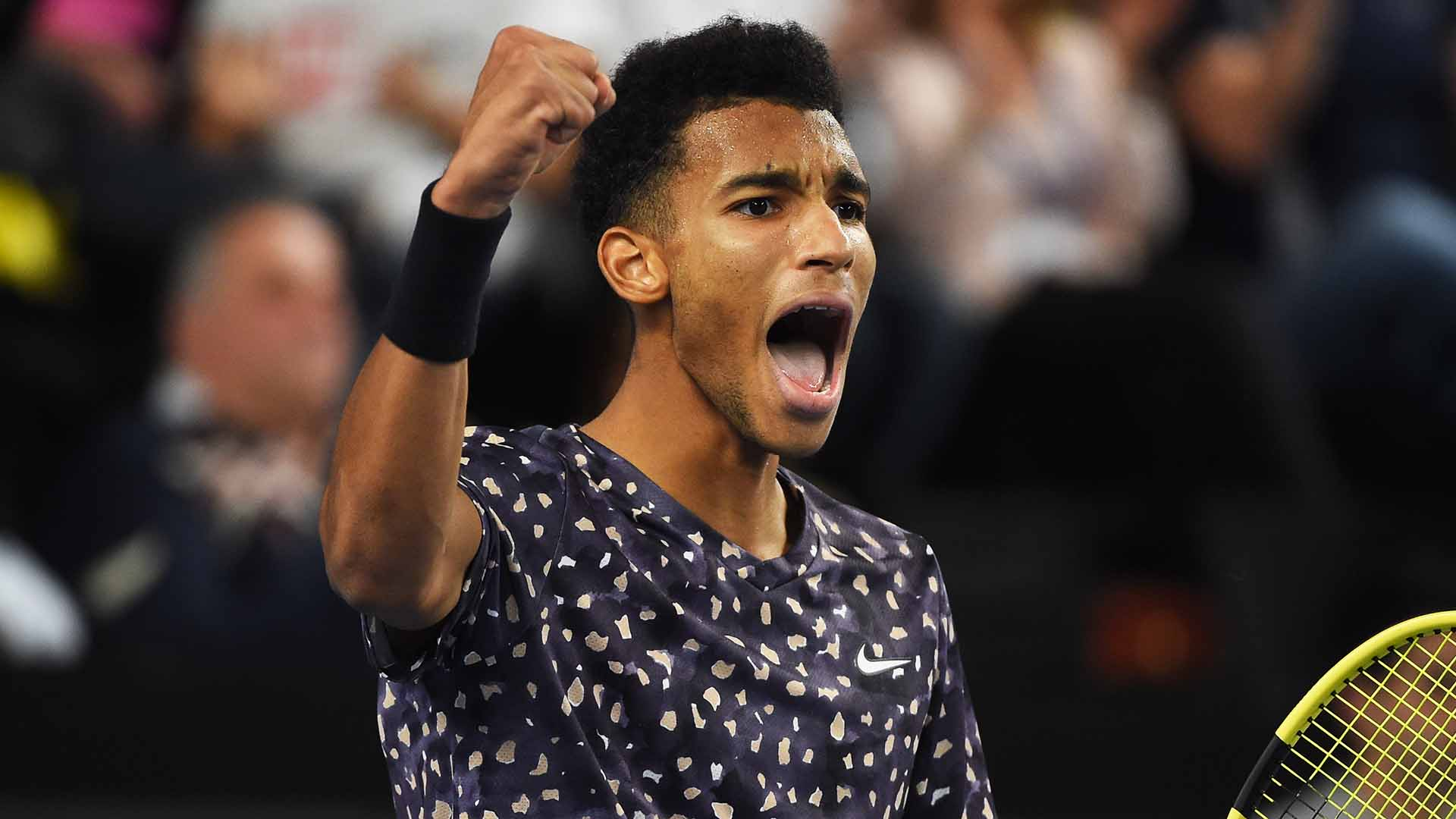 Felix Auger-Aliassime is through to his fifth ATP Tour championship match.