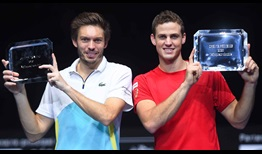 Mahut Pospisil Marseille 2020 Final Trophy
