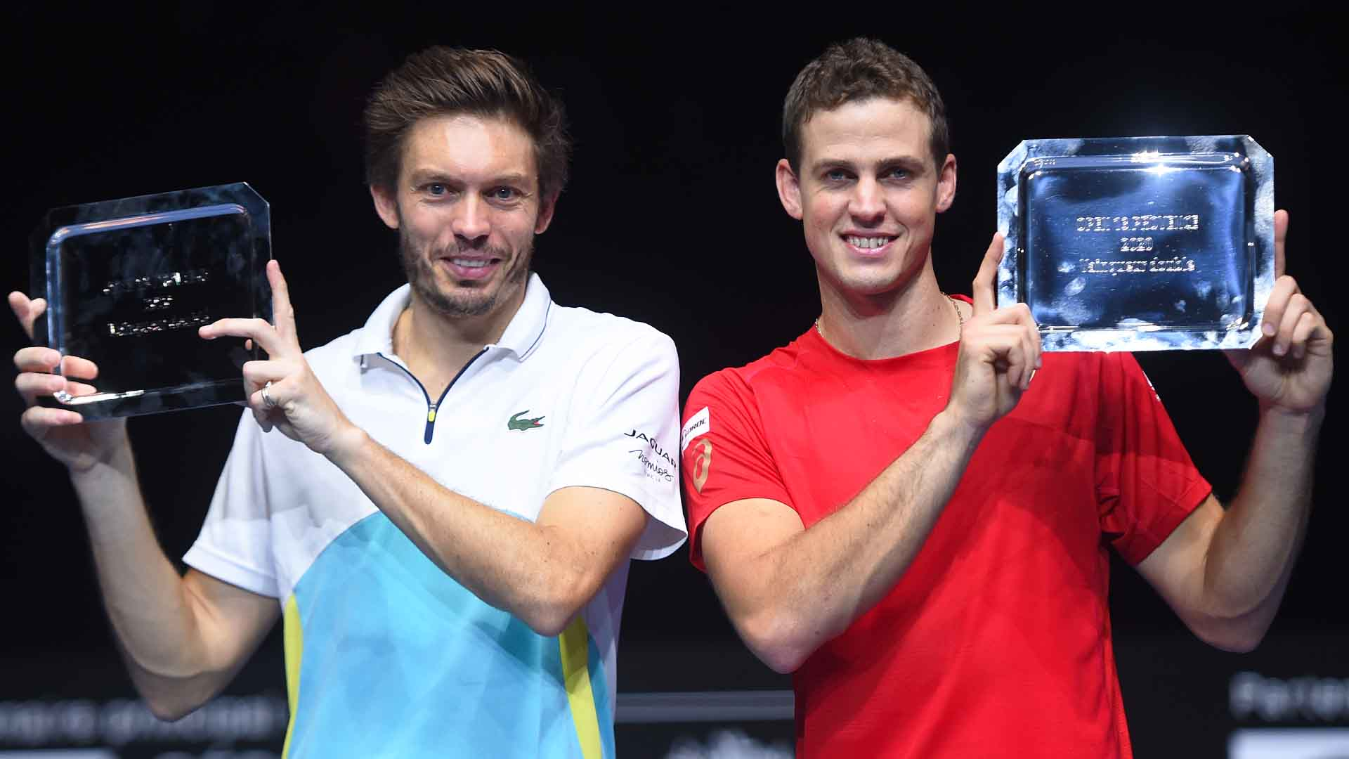 Nicolas Mahut and Vasek Pospisil own an 8-1 team record.
