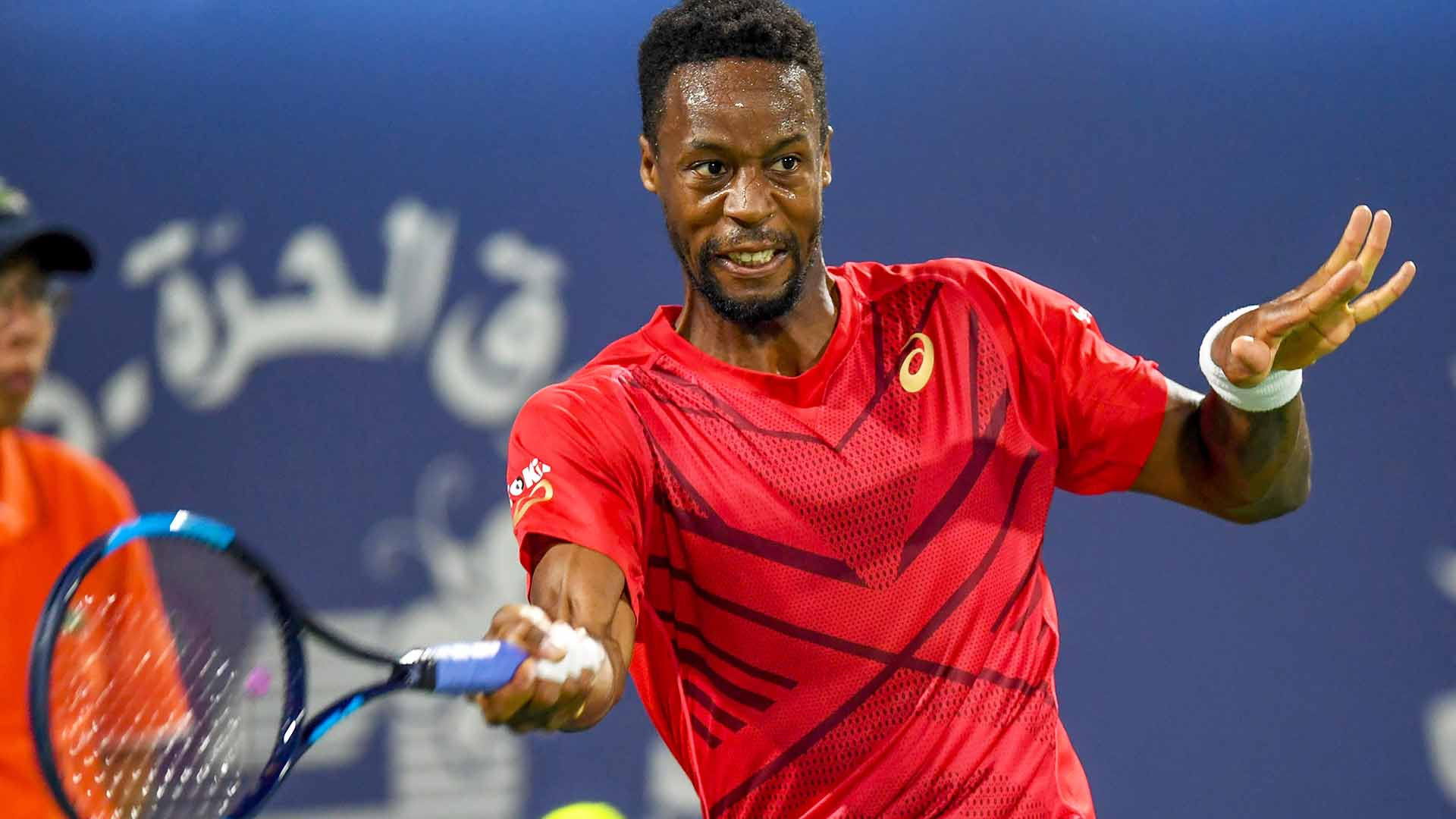 Gael Monfils is attempting to win his third title of 2020 at the Dubai Duty Free Tennis Championships.