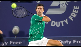 World No. 1 Novak Djokovic is now 15-0 in 2020 after beating Philipp Kohlschreiber on Wednesday in Dubai.