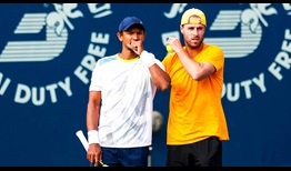 Raven Klaasen and Oliver Marach move closer to their first title of the season in Dubai.
