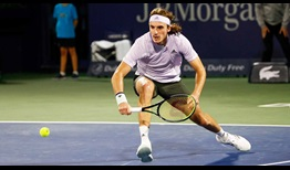 Stefanos Tsitsipas owns a 10-2 record at the Dubai Duty Free Tennis Championships.