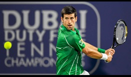 Novak Djokovic is unbeaten on the ATP Tour this year.