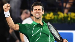 Novak Djokovic captures his fifth Dubai Duty Free Tennis Championships title.