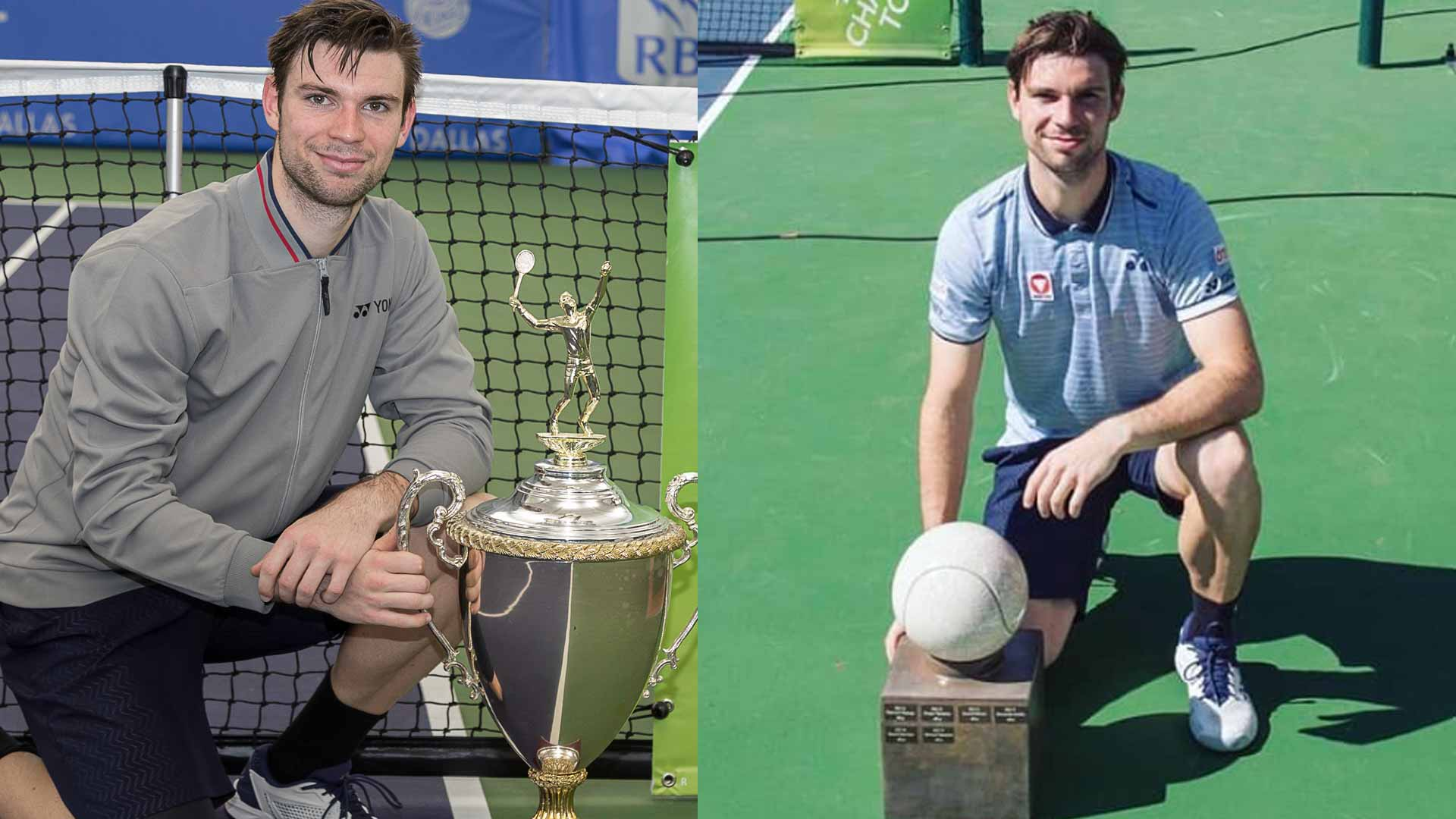 Jurij Rodionov adds ATP Challenger Tour titles from Dallas and Morelos to his trophy collection.