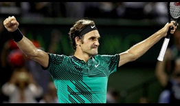 Roger Federer claimed back-to-back final-set tie-break wins at the same tournament for the third time in his career at the 2017 Miami Open presented by Itau.