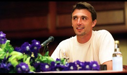Ivanisevic Wimbledon 2001 Press