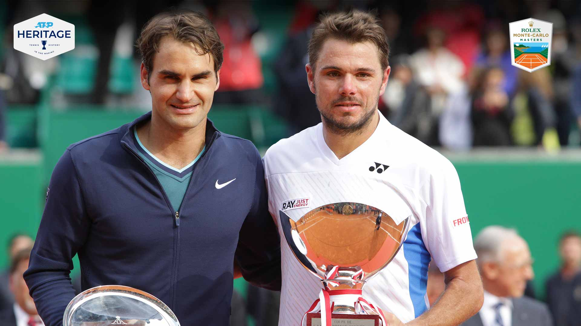 Roger Federer and Stan Wawrinka contested the first all-Swiss final on the ATP Tour in more than 14 years at the 2014 Rolex Monte-Carlo Masters.