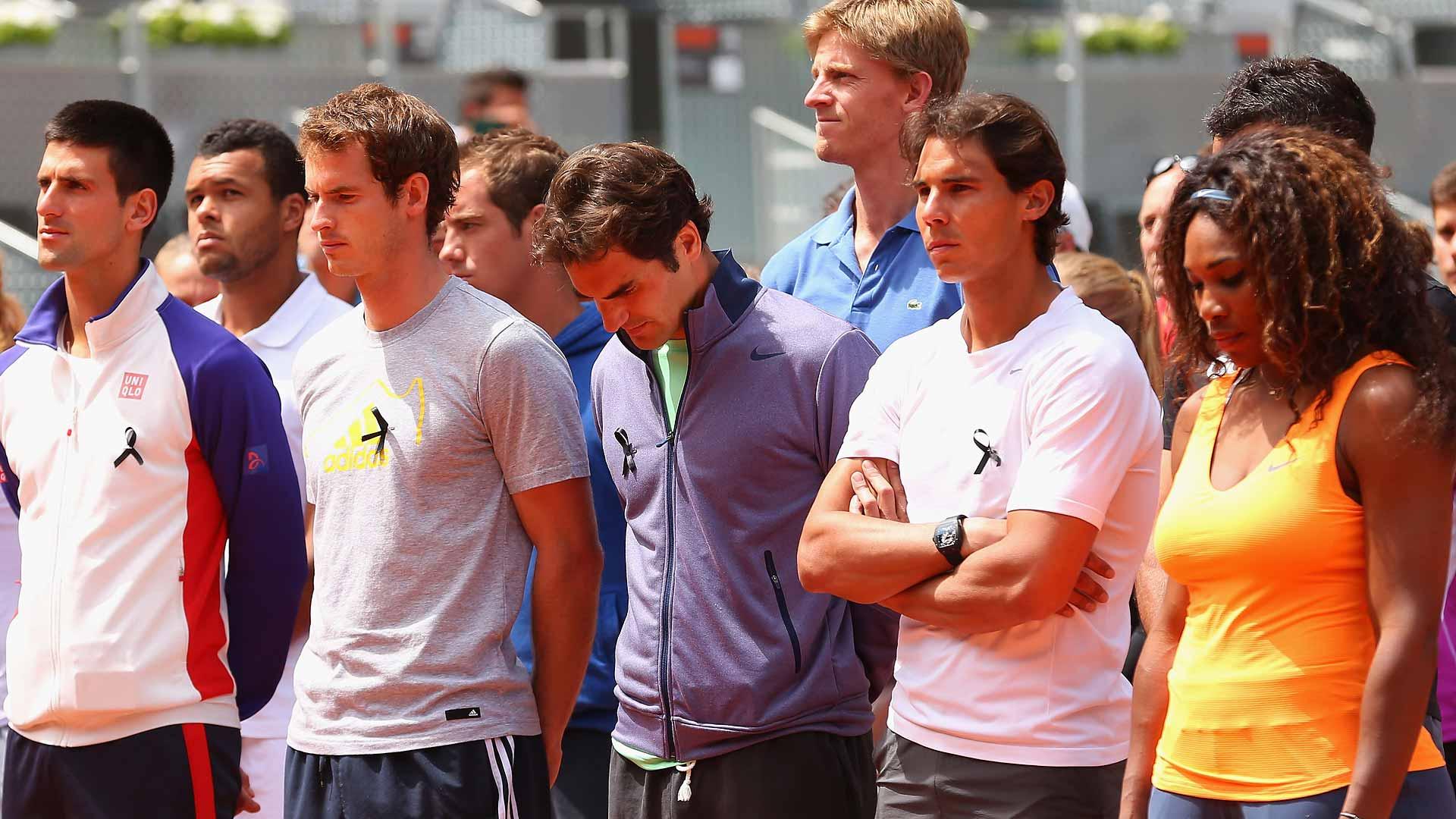 Djokovic, Murray, Federer, Nadal, Serena Williams