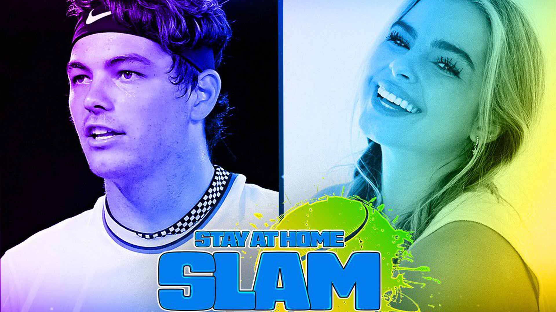 Taylor Fritz Addison Rae Clinch 1 Million Prize For Charity In Stay At Home Slam South Africa Today Sport