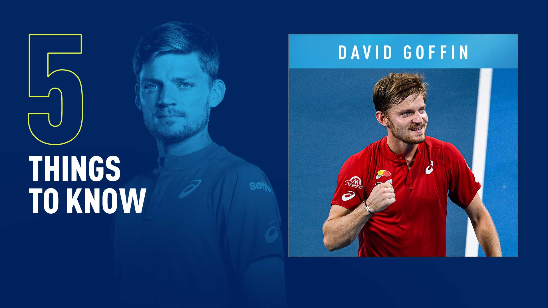 David Goffin reached a career-high No. 7 in the FedEx ATP Rankings on 20 November 2017.