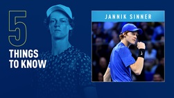Jannik Sinner is the reigning Next Gen ATP Finals champion.