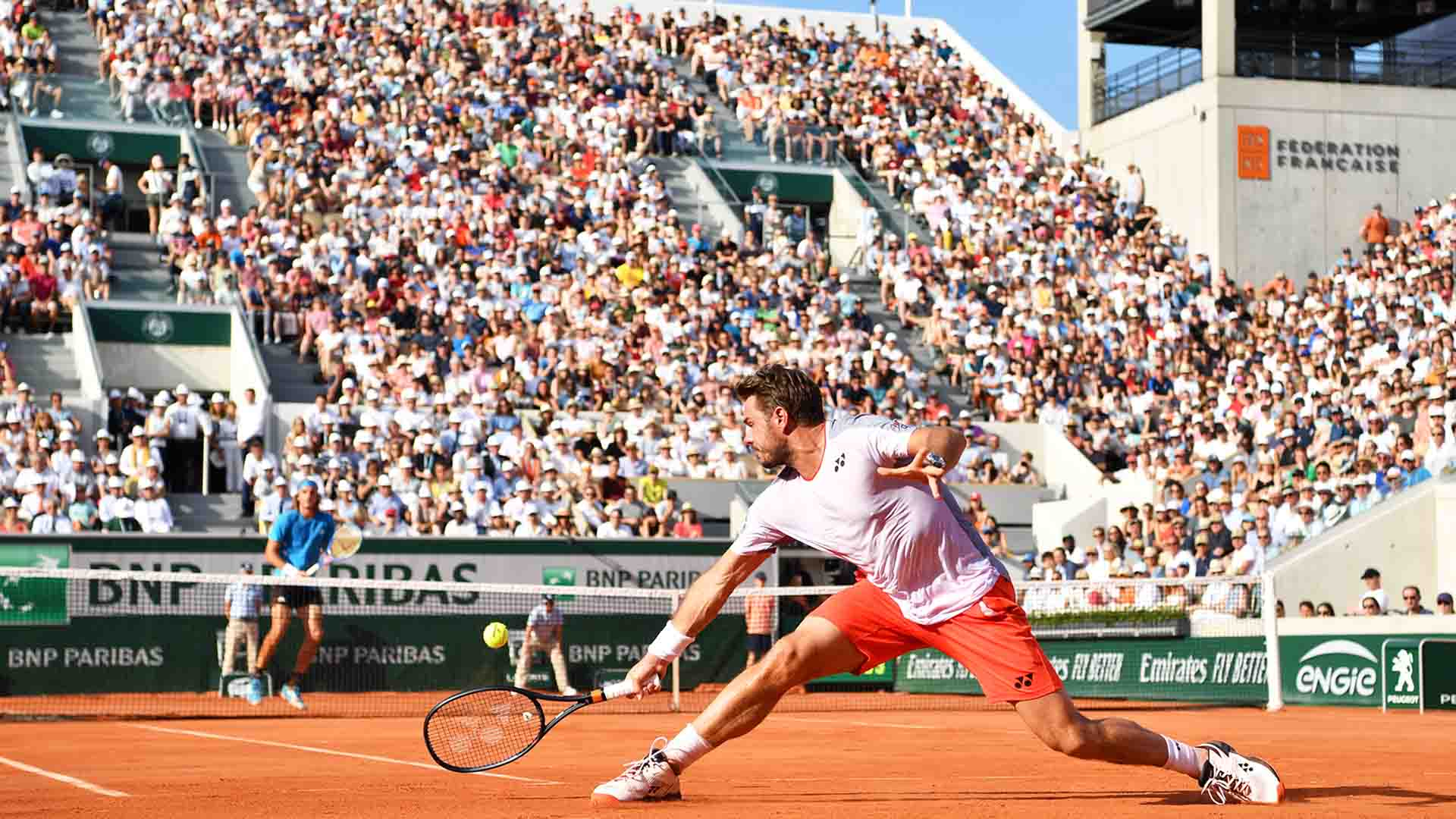 Stefanos Tsitsipas and Stan Wawrinka's fourth-round match at Roland Garros was voted the second best Grand Slam match of 2019 by ATPTour.com.