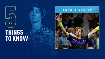Andrey Rublev owns four ATP Tour titles.