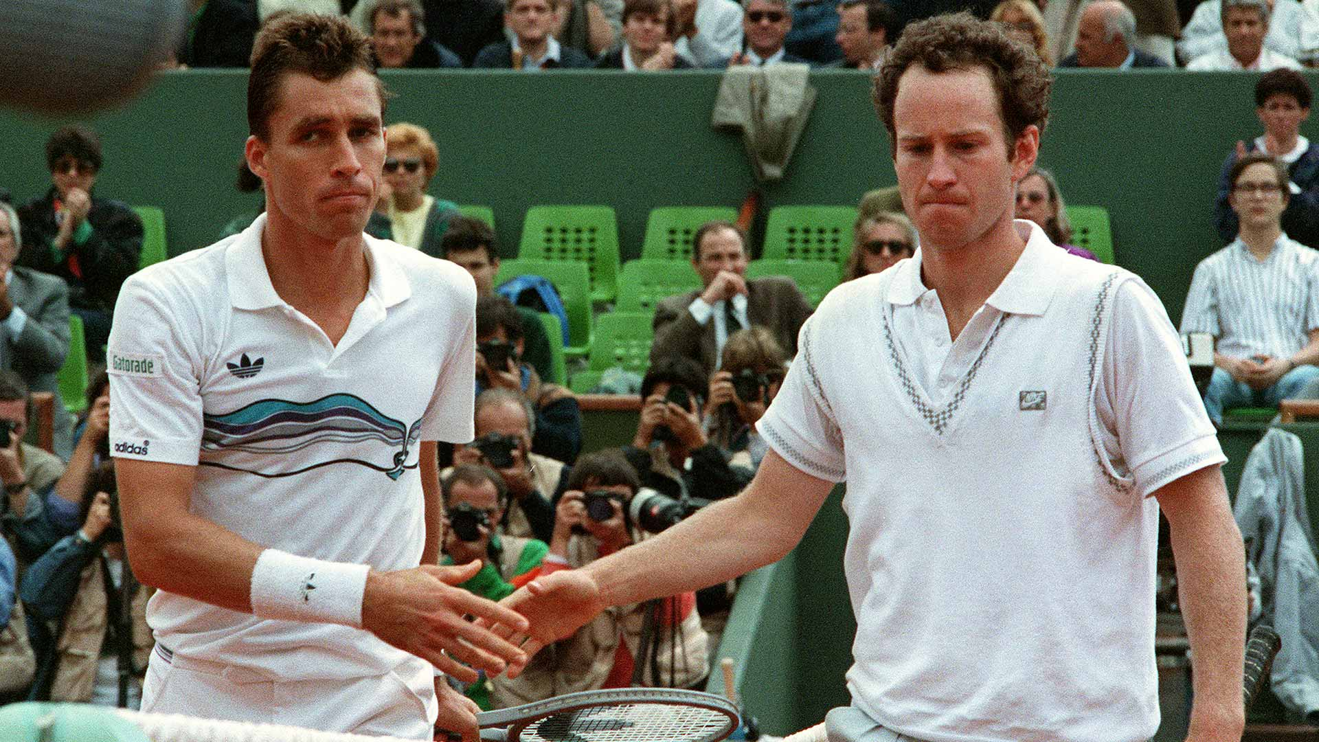 Lendl and McEnroe