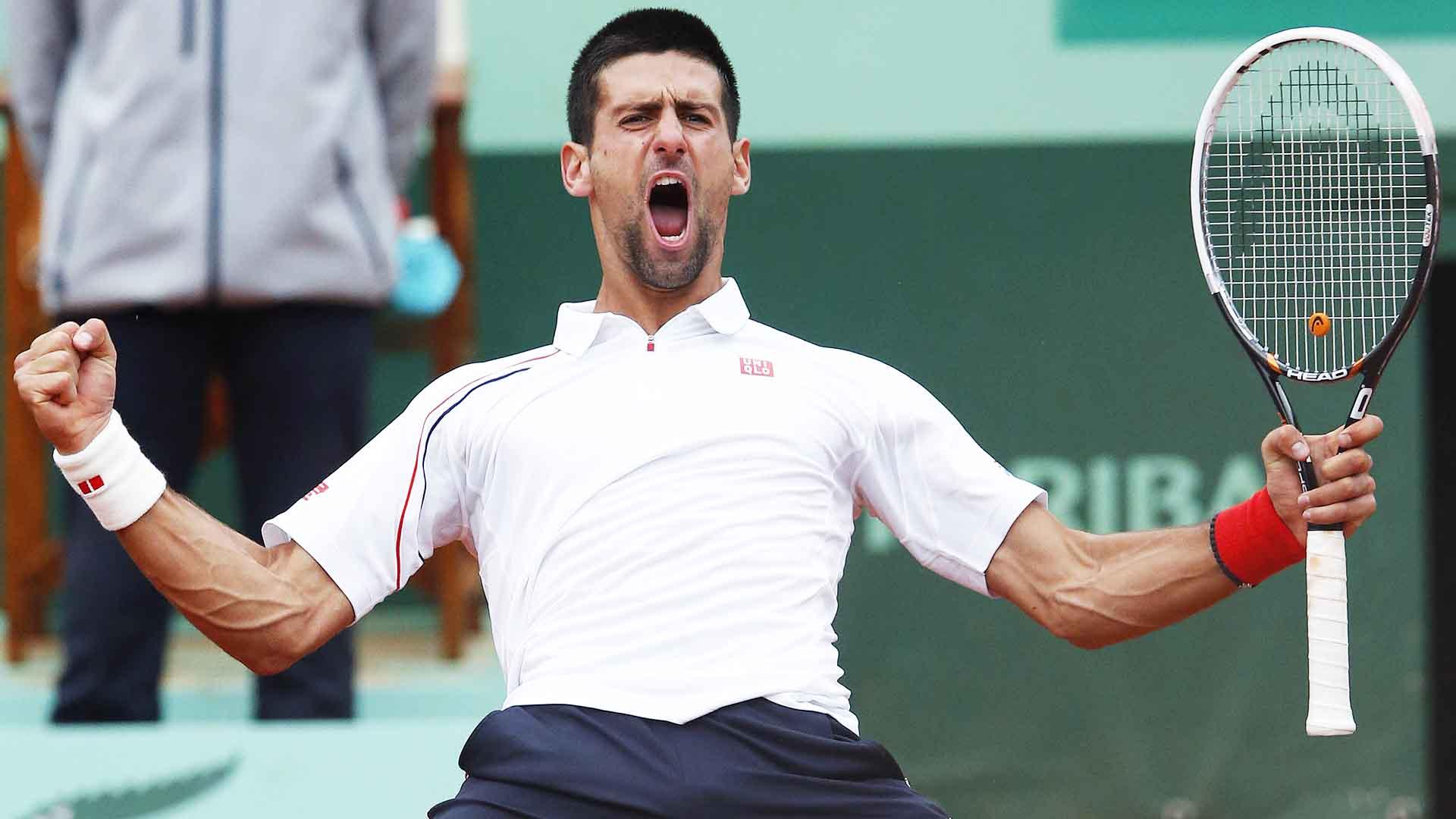 Roland Garros Flashback : Novak Djokovic Saves 4 M . P . To Beat Jo - Wilfried Tsonga In 2012 | ATP Tour