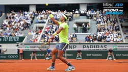 Rafael Nadal has saved more than 70 per cent of the break points he has faced at Roland Garros.