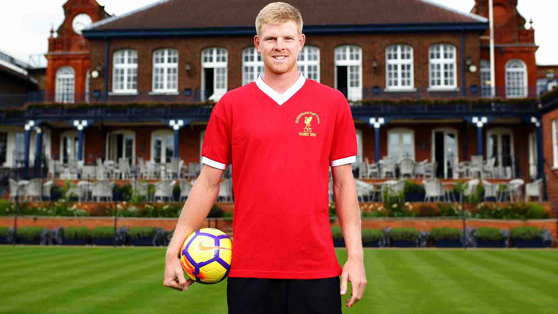 Kyle Edmund supports Liverpool Football Club.