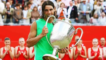 Rafael Nadal lifted his maiden ATP Tour title on grass at the Fever-Tree Championships in 2008.