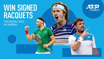 Win Signed Racquets