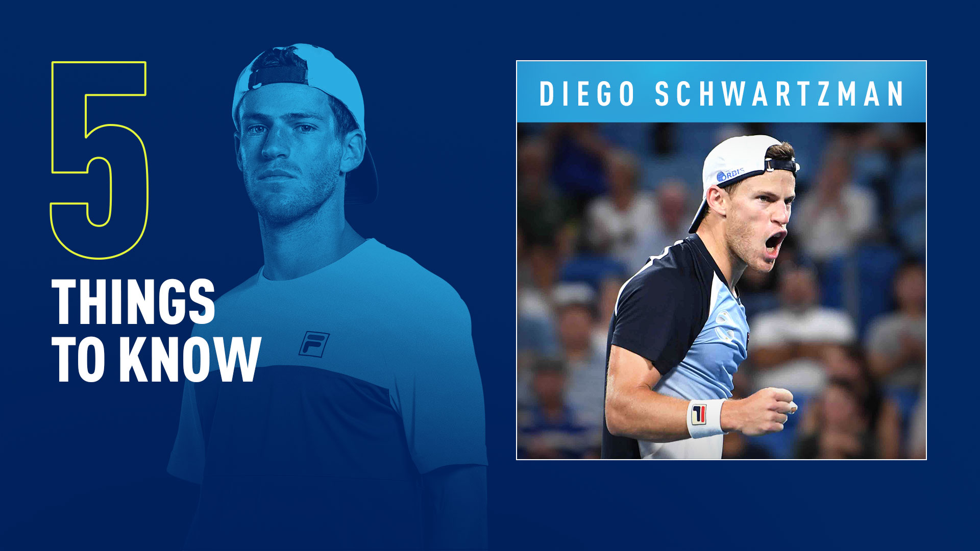 Five Things To Know About Diego Schwartzman Atp Tour The Union Journal