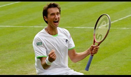 Sergiy Stakhovsky became the lowest-ranked player to defeat Roger Federer at a Grand Slam event in 11 years at Wimbledon in 2013.