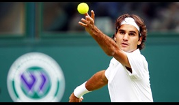Federer Falla Wimbledon 2010 Serve