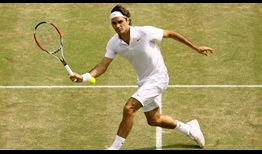 Roger Federer entered the 2008 Wimbledon final on an all-time record 65-match winning streak on grass.