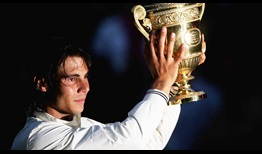 Rafael Nadal became the first Spaniard since Manuel Santana in 1966 to win the Wimbledon title in 2008.
