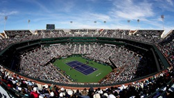 The BNP Paribas Open in Indian Wells was the first tournament to be suspended due to COVID-19.