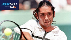 Marcelo Rios spent six weeks at the top of the FedEx ATP Rankings in 1998.