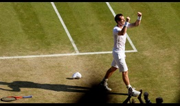 Andy Murray defeats Novak Djokovic in straight sets to claim his maiden Wimbledon title in 2013.