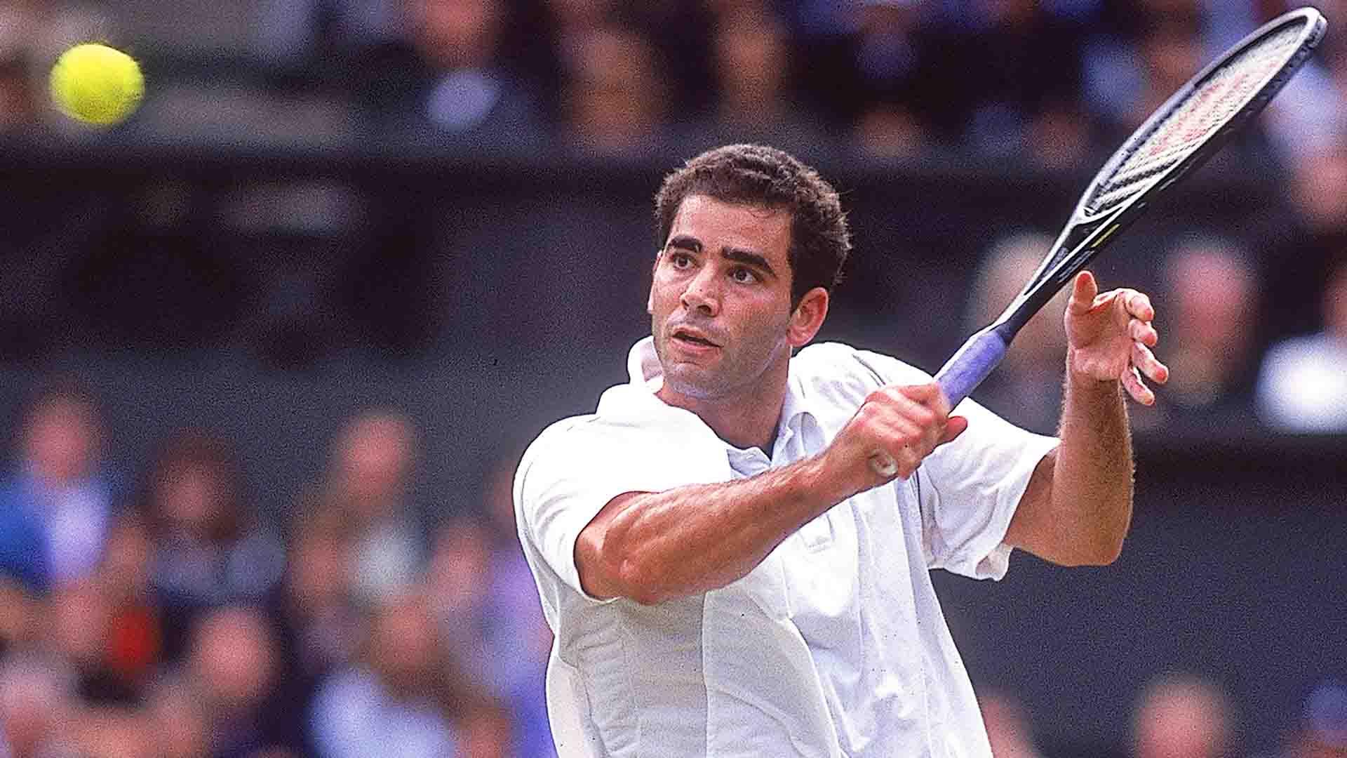 <a href='/en/players/pete-sampras/s402/overview'>Pete Sampras</a> lifted seven Gentlemen's Singles titles at <a href='/en/tournaments/wimbledon/540/overview'>Wimbledon</a> between 1993 and 2000.