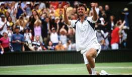 Ivanisevic Wimbledon 2001 Celebration