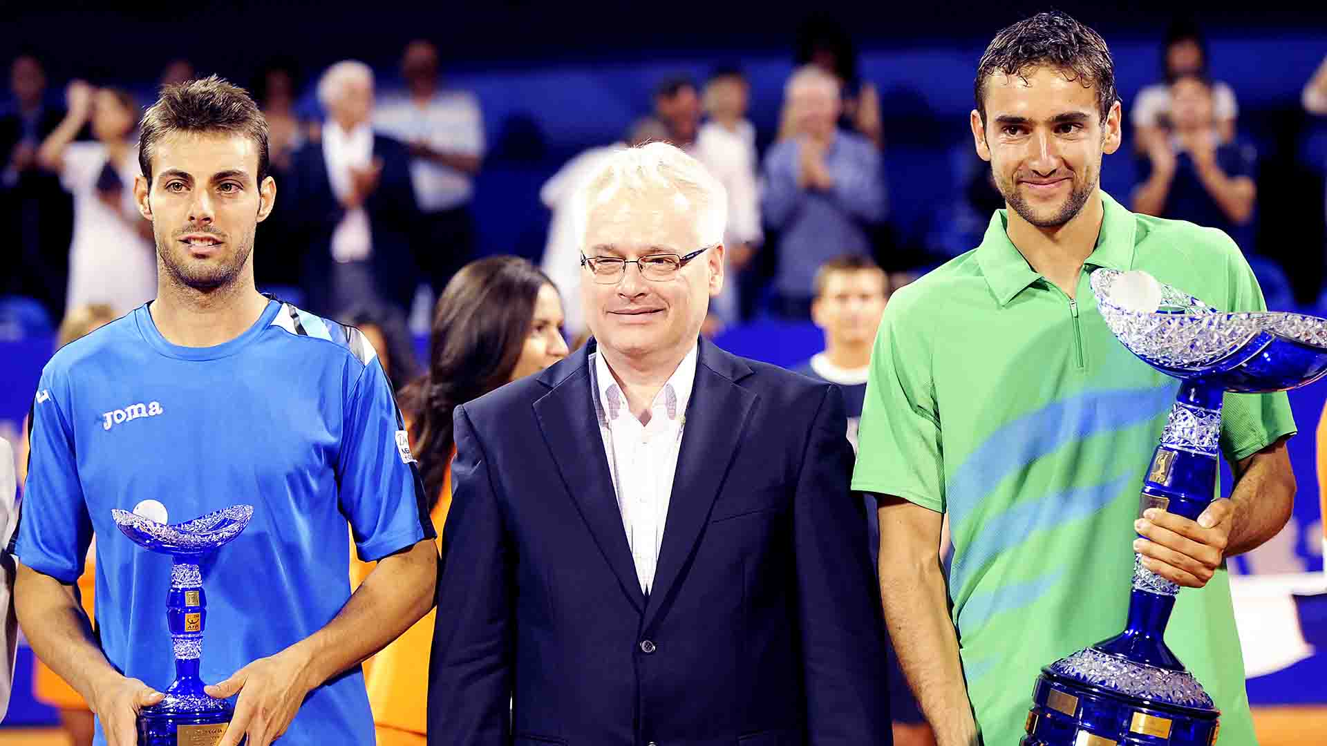 <a href='/en/players/marin-cilic/c977/overview'>Marin Cilic</a> captured his first ATP Tour title on clay at the 2012 <a href='/en/tournaments/umag/439/overview'>Plava Laguna Croatia Open Umag</a>.