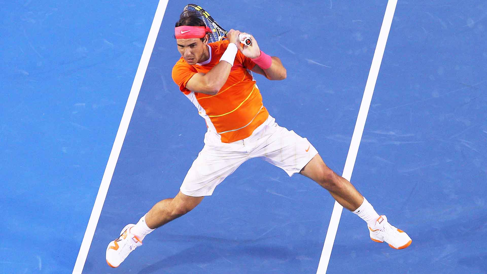 Rafael Nadal lost his only Grand Slam match of 2010 against Andy Murray in the Australian Open quarter-finals.