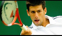 Novak Djokovic reached the third round on his Wimbledon debut in 2005.