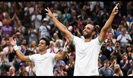 Robert Farah and Juan Sebastian Cabal captured their maiden Grand Slam title as a pair at The Championships in 2019.