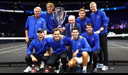 Team Europe Laver Cup 2018 Trophy