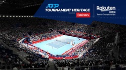 The Rakuten Japan Open Tennis Championships is held at the Ariake Tennis Forest Park.