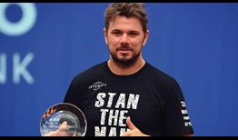 Stan Wawrinka is the champion at the 2020 Prague Open.