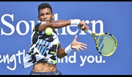 Auger-Aliassime WS Open 2020 Forehand