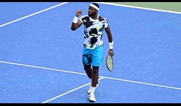 Tiafoe WS Open 2020 Fist Pump